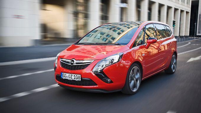 Der Opel Zafira Tourer 2.0 Biturbo ist ab Juni mit familiärem Sportsgeist unterwegs.