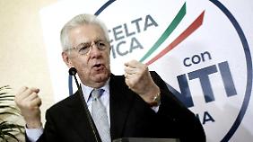 Die Sparpolitik von Mario Monti wurde abgewählt.