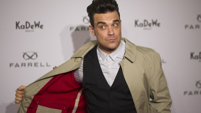 Robbie Williams mag es exklusiv.