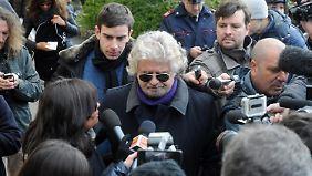 """Beppe Grillo, Erfinder des """"Leck-mich-am-Arsch-Tags"""""""