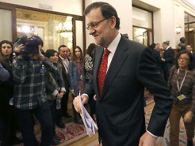 Mariano Rajoy muss sein Defizit-Versprechen kassieren.