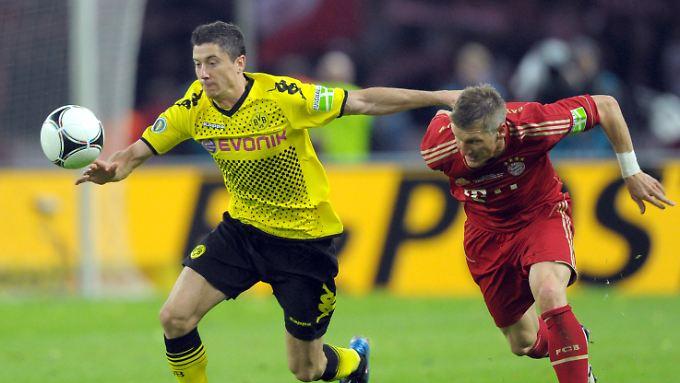 Zuletzt waren Robert Lewandowski und seine Dortmunder den Bayern im direkten Duell meistens einen Schritt voraus.