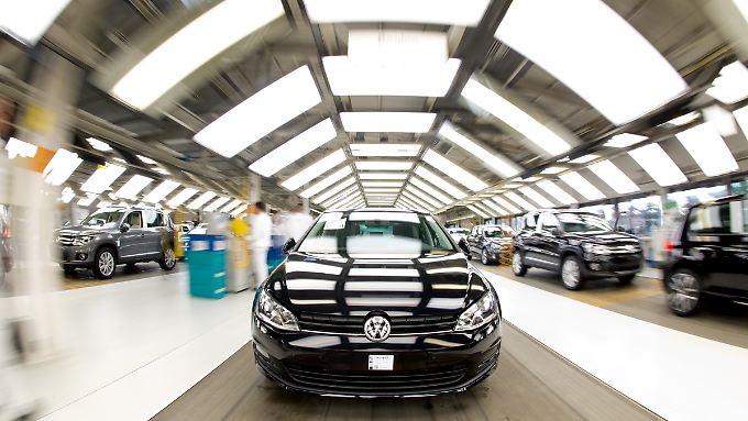VW-Werk Wolfsburg: Jeder Mitarbeiter erhalten mehr als 7000 Euro Erfolgsprämie.