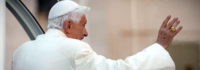 Benedikt XVI. hatte als erster Papst der Neuzeit seinen Rücktritt erklärt.