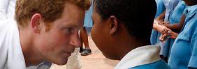 Die andere Seite des Partyprinzen: Harry unterstützt Blindenschule