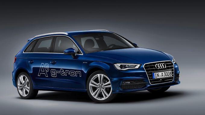 """Wird der A3 G-Tron mit Audis """"e-gas"""" betrieben, soll er CO2 neutral unterwegs sein."""