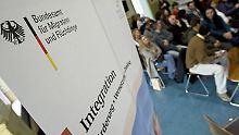 Informationsveranstaltung zum Thema Asyl in Berlin.