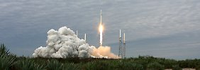 Der Start der SpaceX-Rakete verlief noch reibungslos.
