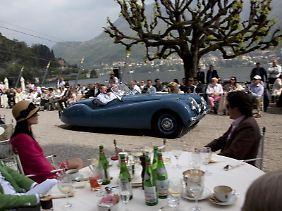 Schaustück:Manche Besitzer zeigen ihr aufwendig restauriertes Auto am liebsten vor ausgewähltem Publikum auf Oldtimer-Treffen wie dem Concorso d'Eleganza Villa d'Este.