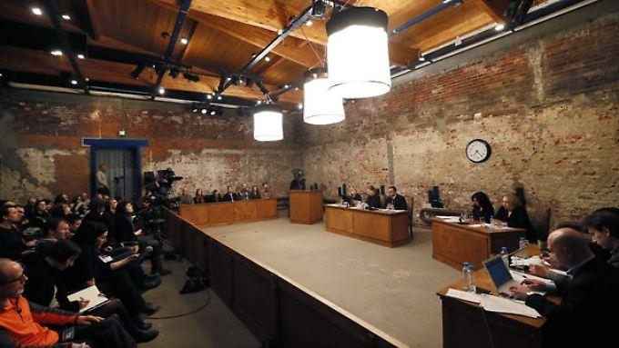Bei dem Projekt wurde auch der Prozess gegen Mitglieder des Punk-Kollektivs Pussy Riot nachgestellt.