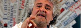Störfeuer aus Italien: Grillo flirtet mit der Lira