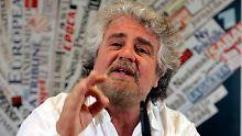 Italiener will anderes Europa: Grillo über Deutschland verärgert
