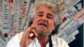 """""""Italien de facto schon raus"""": Grillo provoziert Europa"""