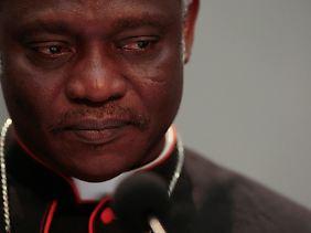 Auch Kardinal Peter Turkson aus Ghana steht auf der Schwarzen Liste.