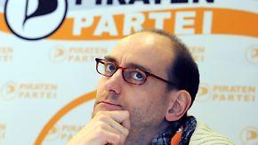 Konflikte im Vorstand: Pirat Ponader tritt zurück