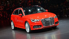 Der Audi A3 e-tron fährt mit Traumwerten vor.