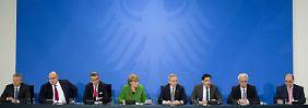 Energie-Treffen im Kanzleramt: Alle uneins, alle einig