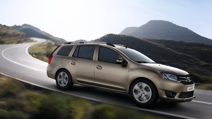 Der neue Dacia Logan MCV sieht jetzt w