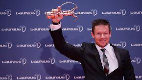 Laureus Awards verliehen: Baumgartner für Weltall-Sprung geehrt