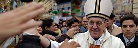 Jorge Bergoglio, umjubelt in seiner Heimat Argentinien.