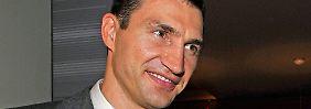 """""""In der Liebe kann man alles verzeihen"""": Klitschko hat ganz weichen Kern"""