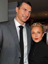 Kleiner Größenunterschied: Wladimir Klitschko und Hayden Panettiere im September 2010.