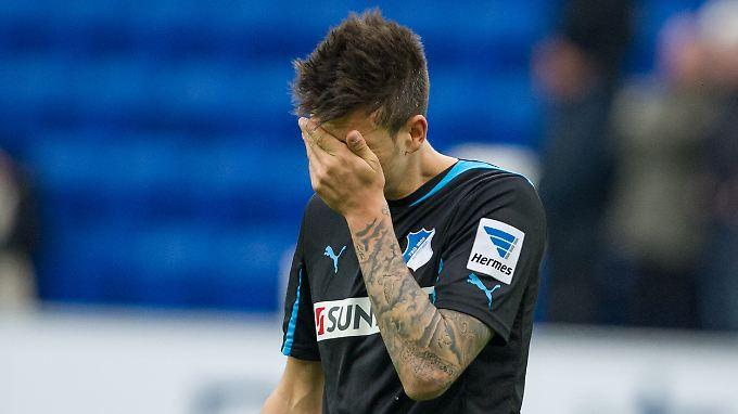 Hat er schon? Hoffenheims Joselu nach der Partie gegen Mainz.