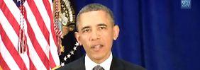 """""""Baum der Freundschaft"""": Obama grüßt den Iran"""