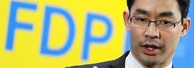 """FDP verharmlost NPD"": Seehofer kritisiert Röslers Nein"