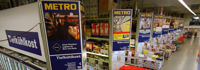 Metro-Markt in Sankt Augustin bei Bonn.