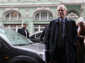 Zyperns Finanzminister Michael Sarris in der russischen Hauptstadt.