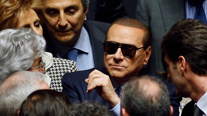 Berlusconi spielt trotz anhängiger Klagen gegen ihn noch eine Rolle in der italienischen Politik.