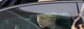 Angela Merkel beharrt darauf, dass Zyperns Bankensektor seinen Beitrag leistet.