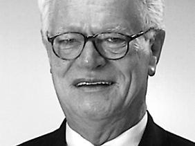 Konditor Aloys Coppenrath, Mitgründer und Inhaber von Coppenrath & Wiese.