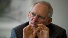 Schäuble ist zuversichtlich, dass auch der Bundestag dem Hilfspaket zustimmen wird.
