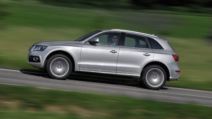 Der Audi A5 ist für Familien das beste Auto der Q-Reihe.