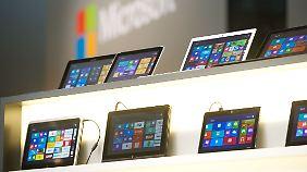 Windows 8 kam erst im Herbst auf den Markt.