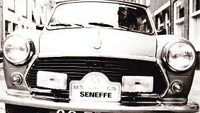 In Seneffe war man stolz auf den Mini.