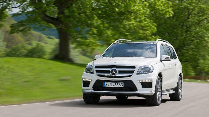 Nur für den ganz großen Geldbeutel: der von AMG getunte Mercedes GL.