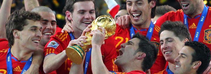 Späte Erlösung: Spanien ist erstmals Weltmeister