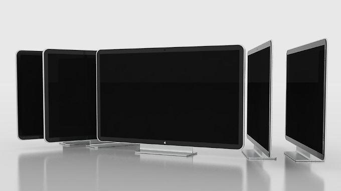 So stellt sich der Designer Guilherme Martins Schasiepen das iTV vor.