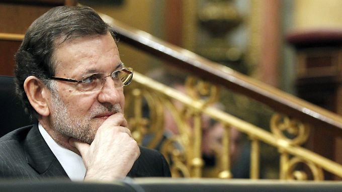 Laut einem Medienbericht hat die Regierung von Mariano Rajoy in Brüssel um eine Lockerung der Sparziele gebeten.