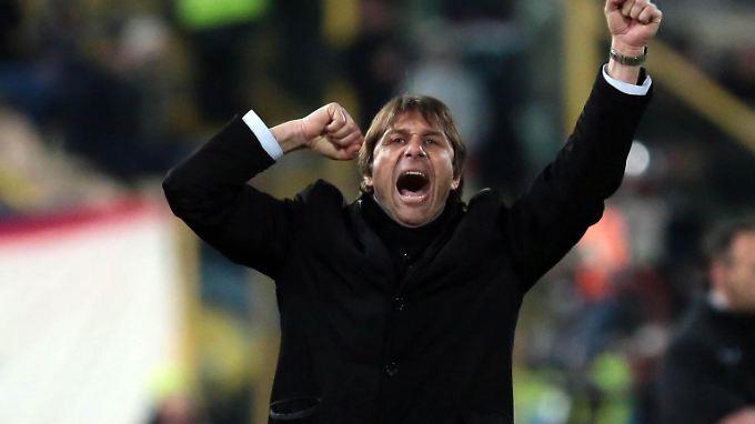 """""""Wir dürfen nicht scheitern!"""": Antonio Conte."""
