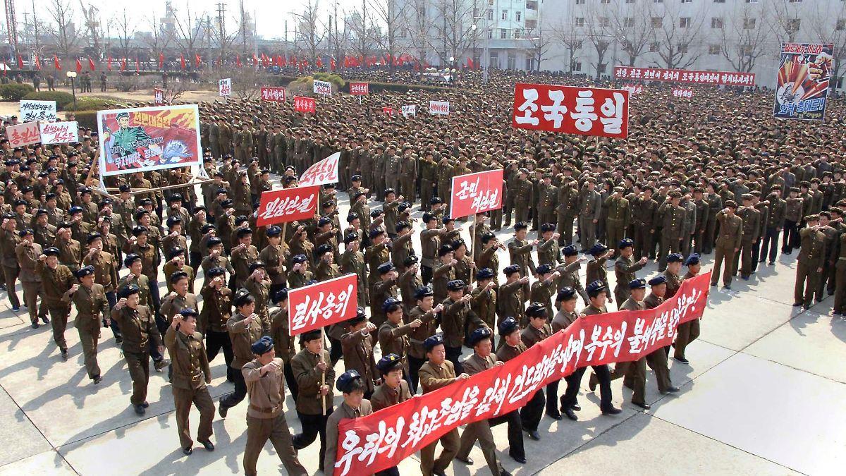 Nordkorea genehmigt Atomschlag