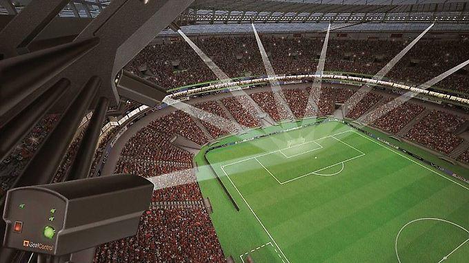 Torlinien-Technik von Goal Control: Deutsche Firma bekommt Fifa-Zuschlag