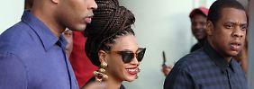Beyoncé und Jay-Z (r.) bei ihrer Kuba-Reise.