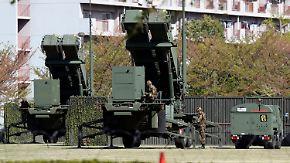 Nordkorea provoziert weiter: Japan positioniert Abwehrraketen