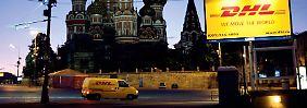 Paketstau in Moskau: Deutsche Post bietet Hilfe an