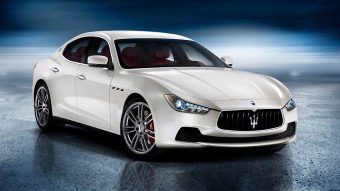 So sieht er aus, der Maserati Ghibli.