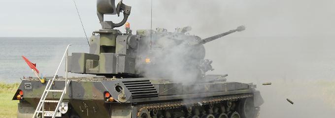 Gepard-Flugabwehrpanzer der Bundeswehr (Archivbild).
